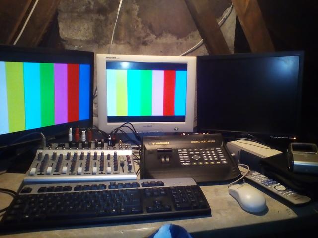 DIY TV Studio